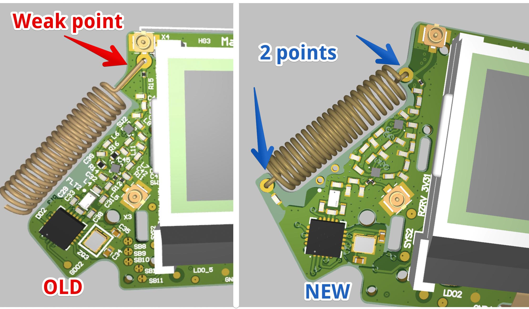 flipperzero new design sub1ghz antenna