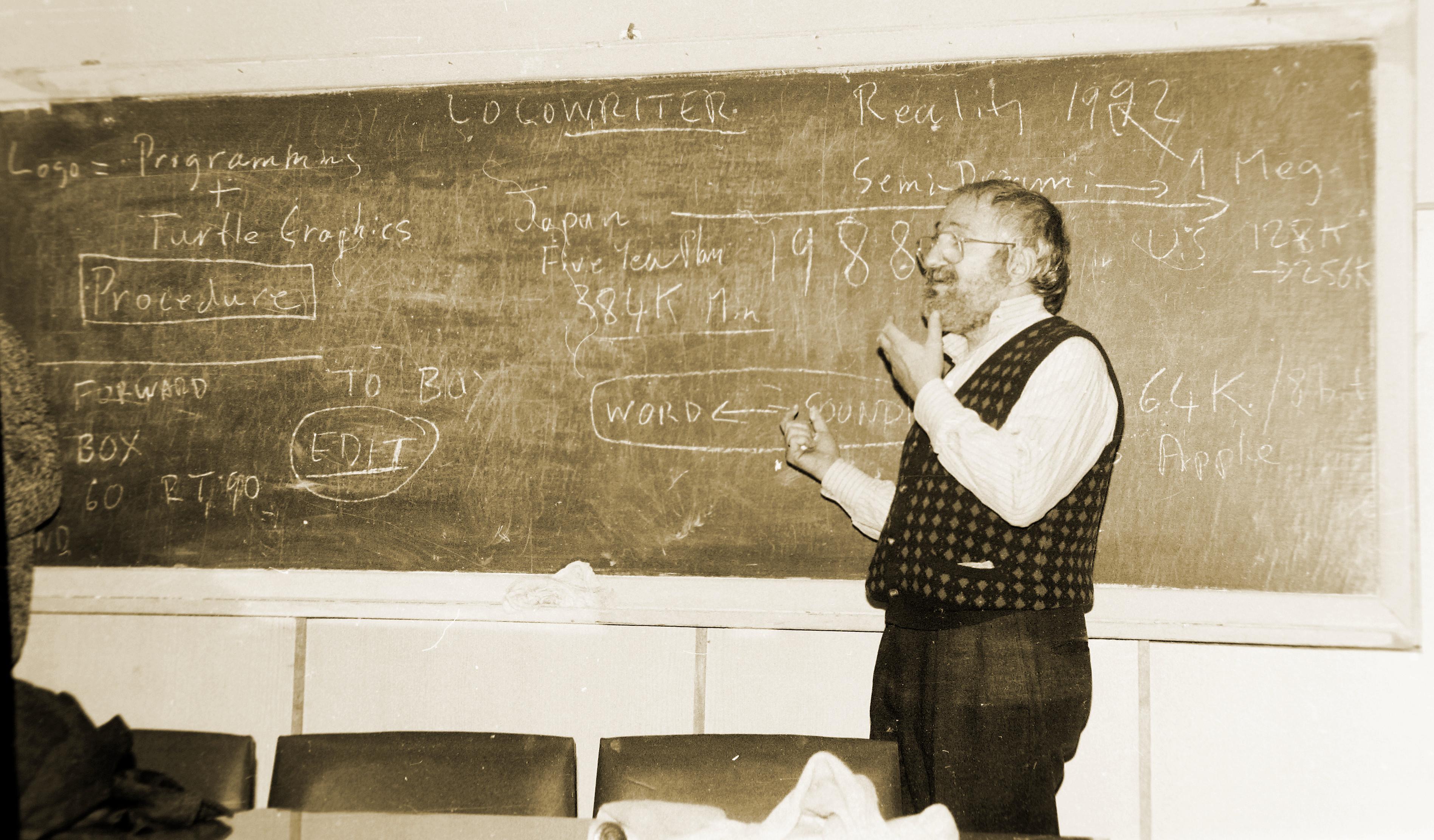 """Seymour Papert: """"Computer as a condom"""""""