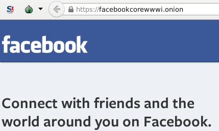 зеркало facebook в onion
