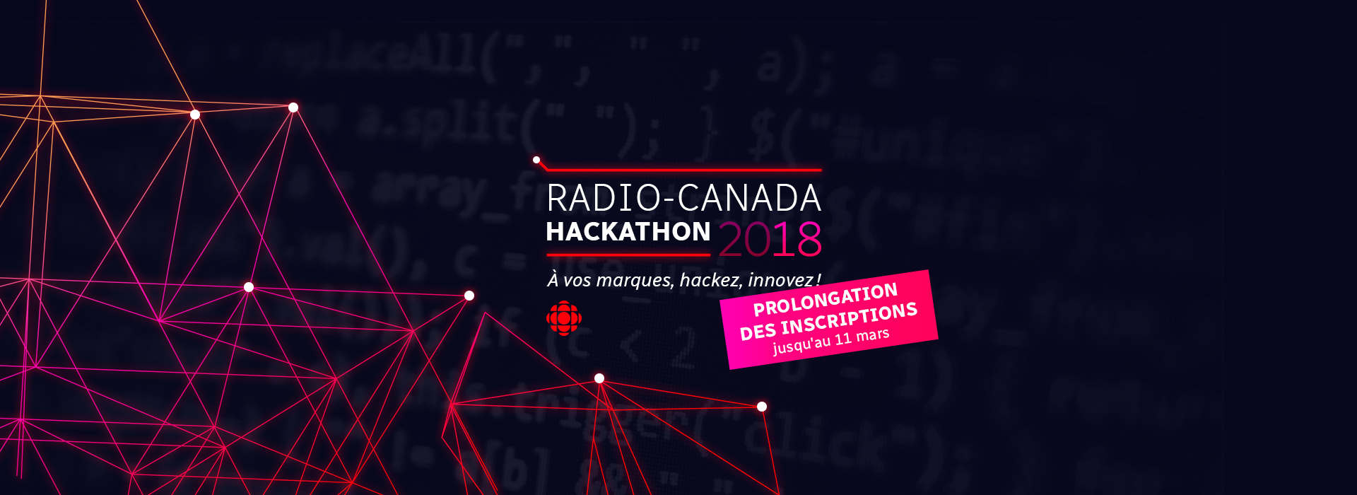 Is there gunpowder in the flasks? Hackathon Radio Canada 2018 (Part One, Team Up)