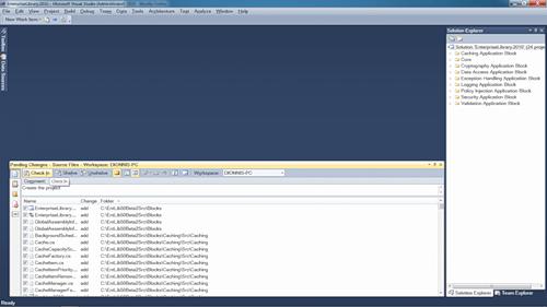 Visual Studio Team Foundation Server 2010 Image 3