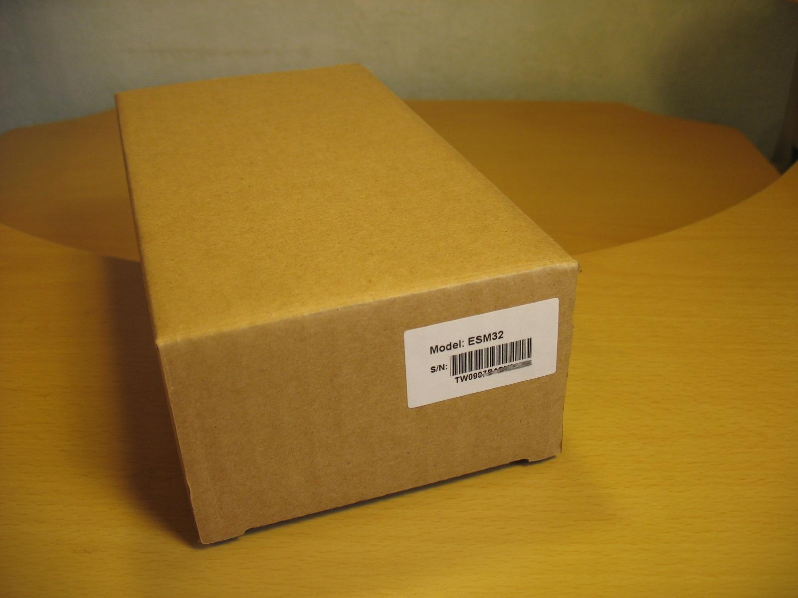 Упаковка консоли расширения