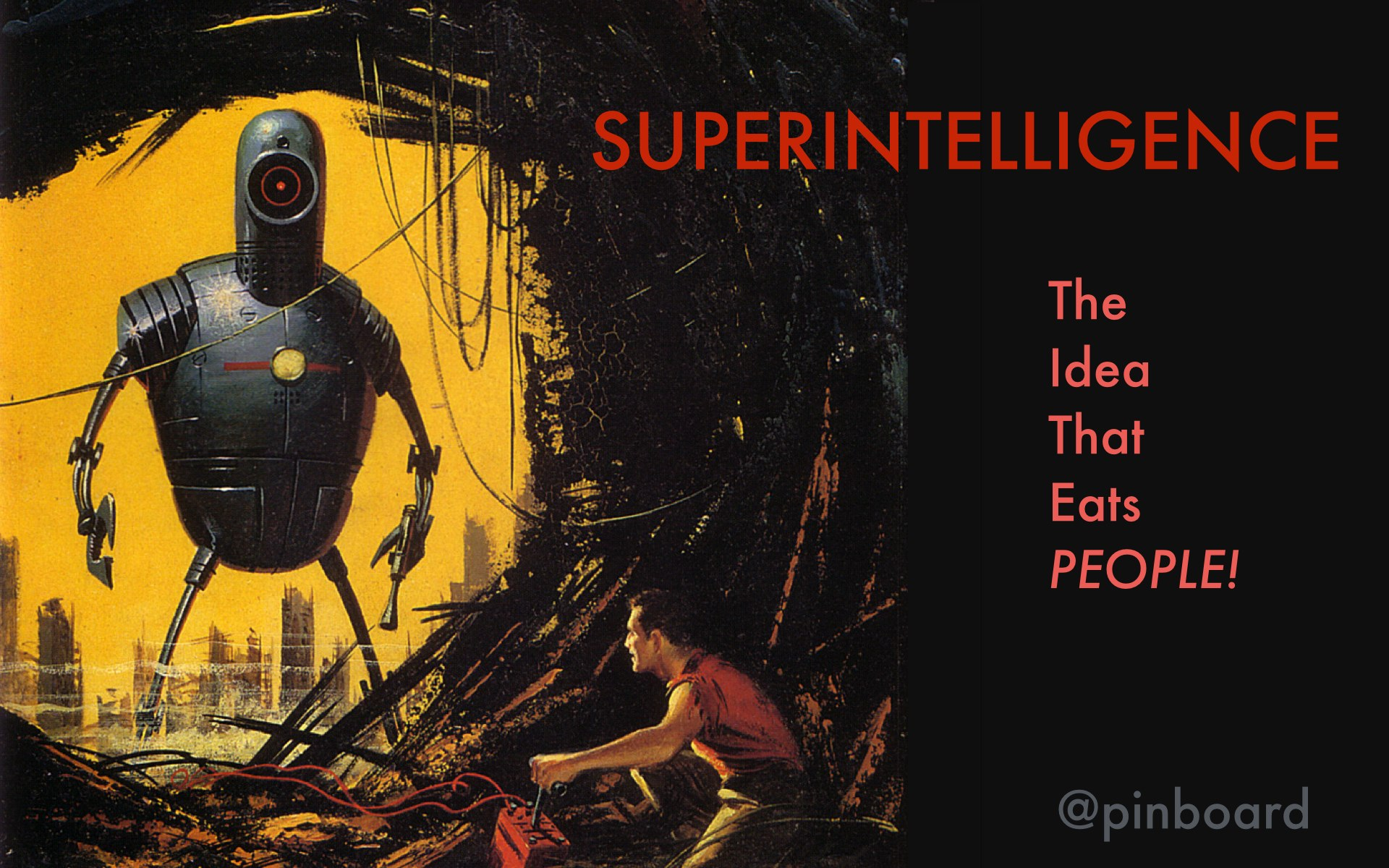 Superintelligence: an idea that wonders intelligent people
