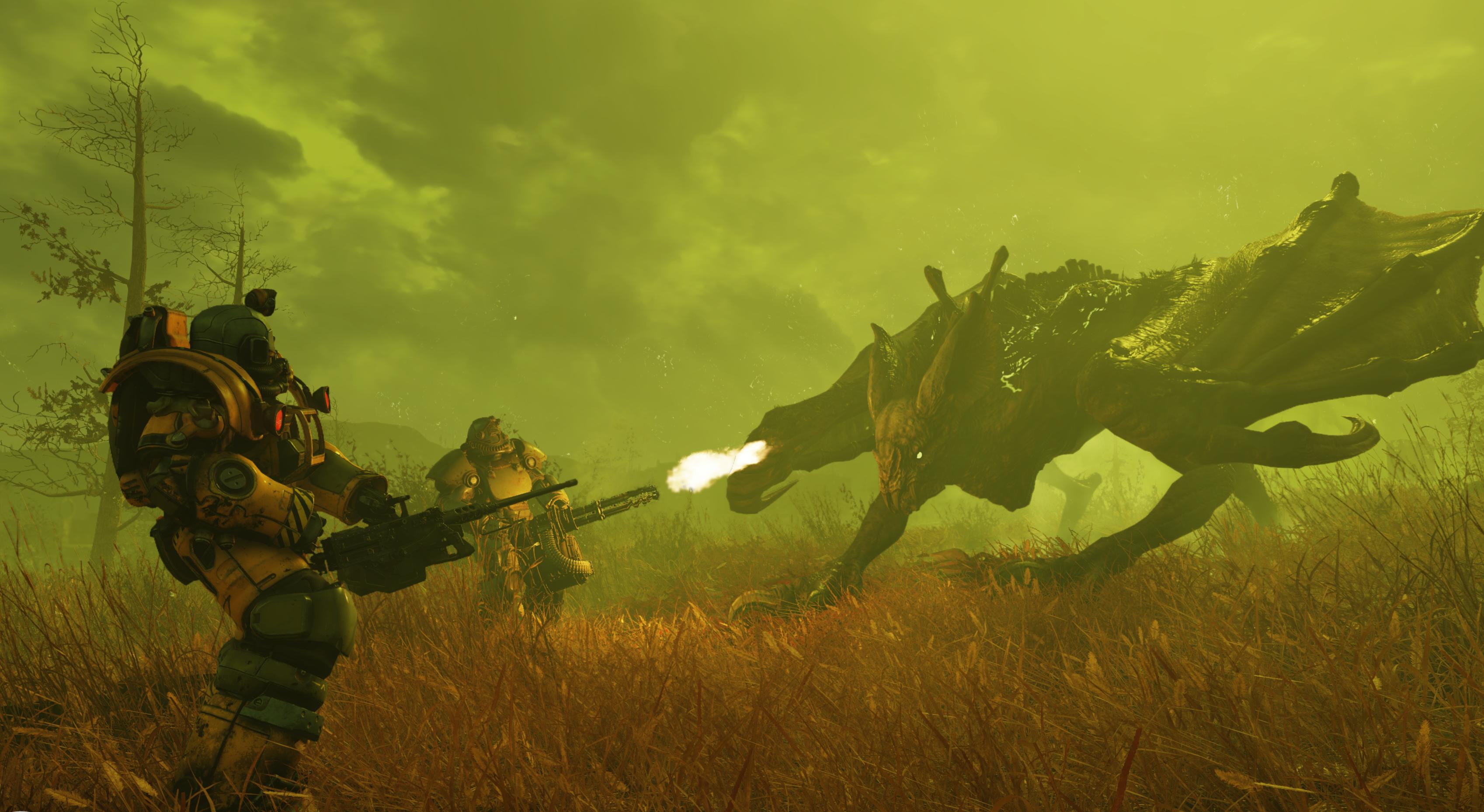 Недоработки в квестах Fallout 76 позволили игрокам устроить ядерный ад