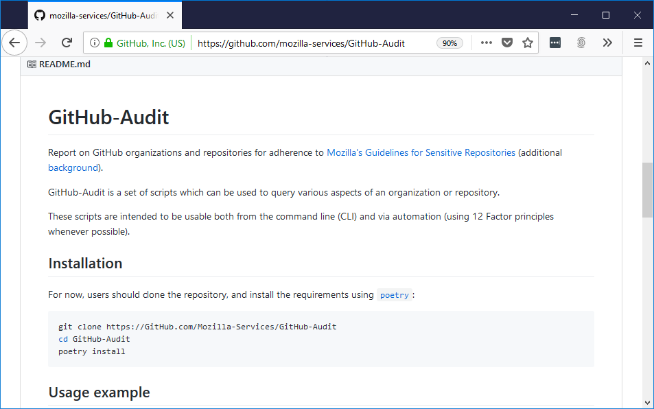 Protection of repositories on GitHub from malicious commits