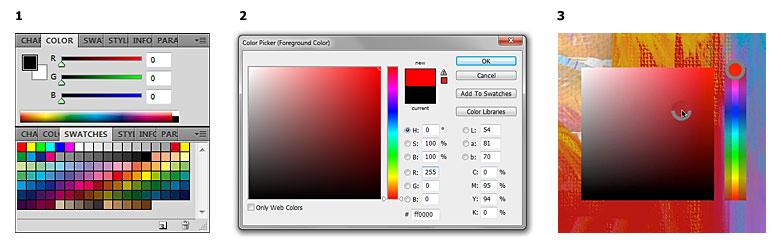 Средства для работы с цветом в Adobe Photoshop