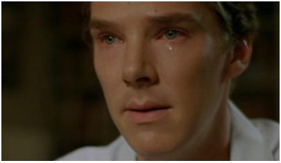 Sad Benedict Cumberbatch