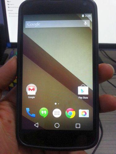 Android L портирован на Nexus 4, пока неофициально