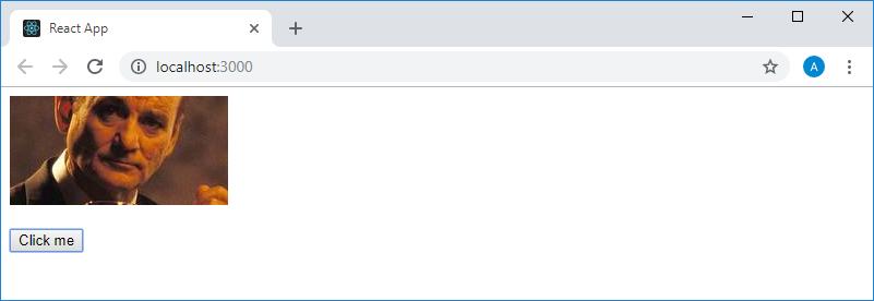 Страница приложения в браузере