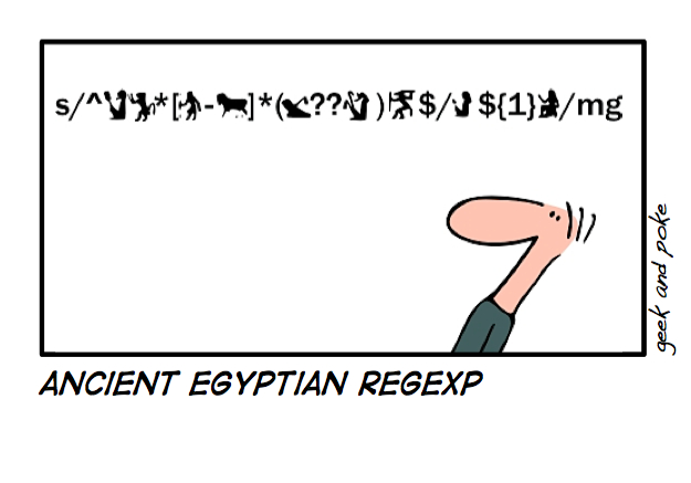 Ancient Egyptian Regexp