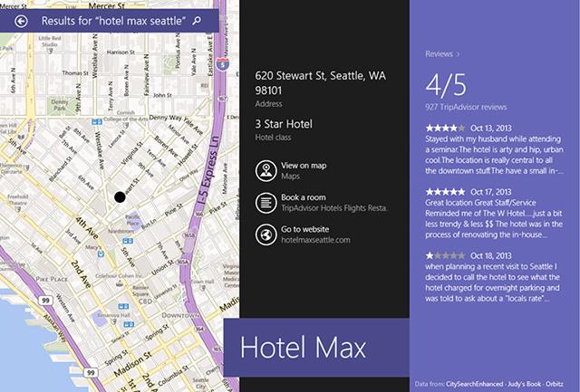Bing Smart Search Windows 8.1