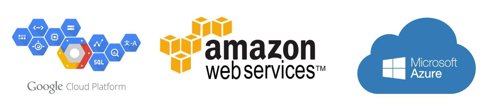 Легкий тест производительности облачных платформ AWS, Google Cloud и Microsoft Azure