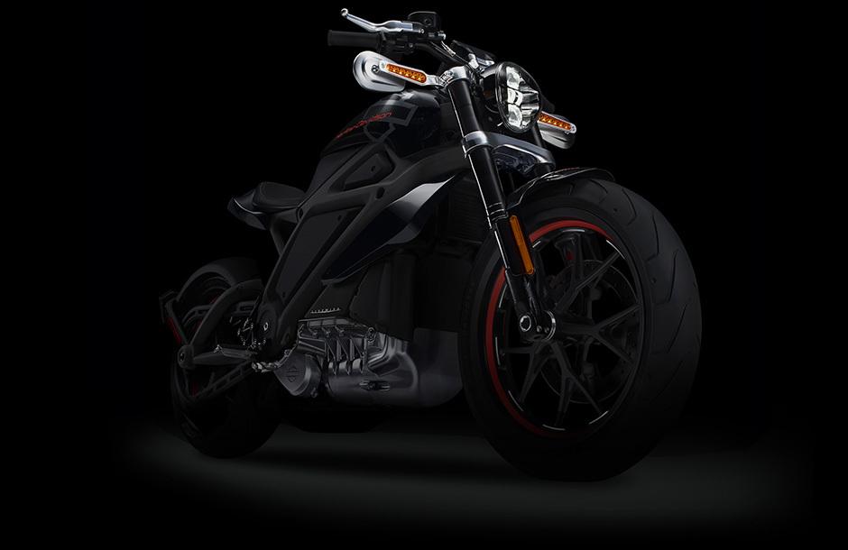 Компания Harley-Davidson представила электрический мотоцикл LiveWire
