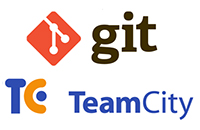 git, team city