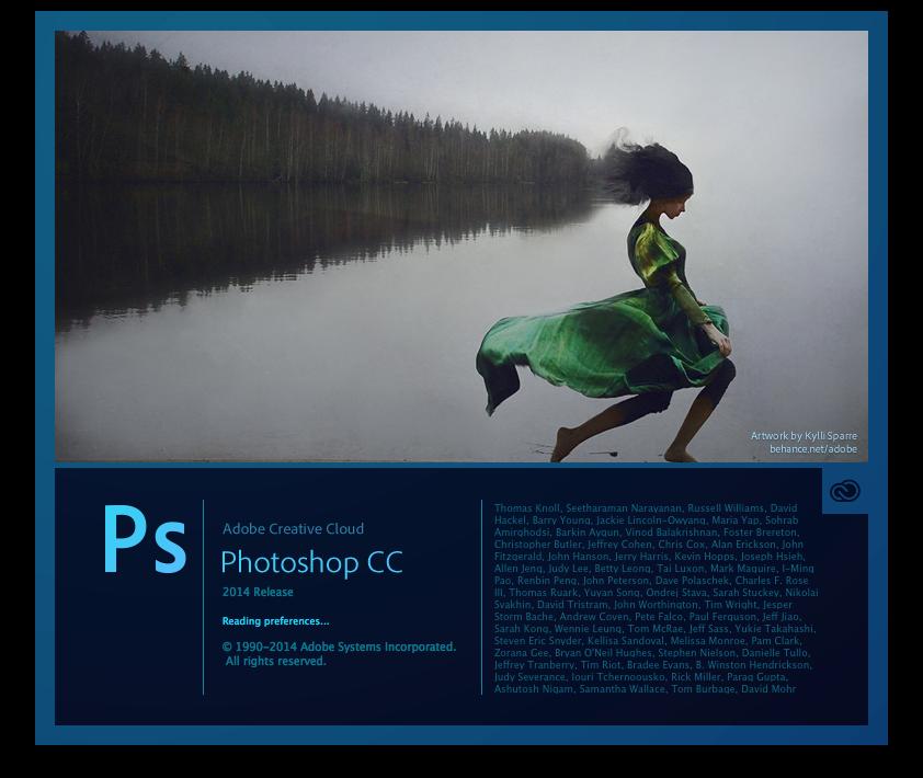 Adobe photoshop cc 14