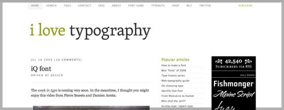 Азбука web разработчика Хабрахабр Типографика играет важную роль в веб дизайне и блог i love typography является одним из лучших по данной теме