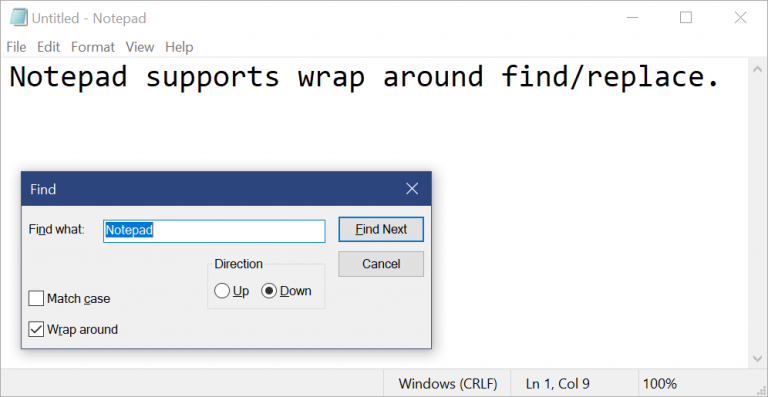 Notepad in Windows received the first significant update in two decades