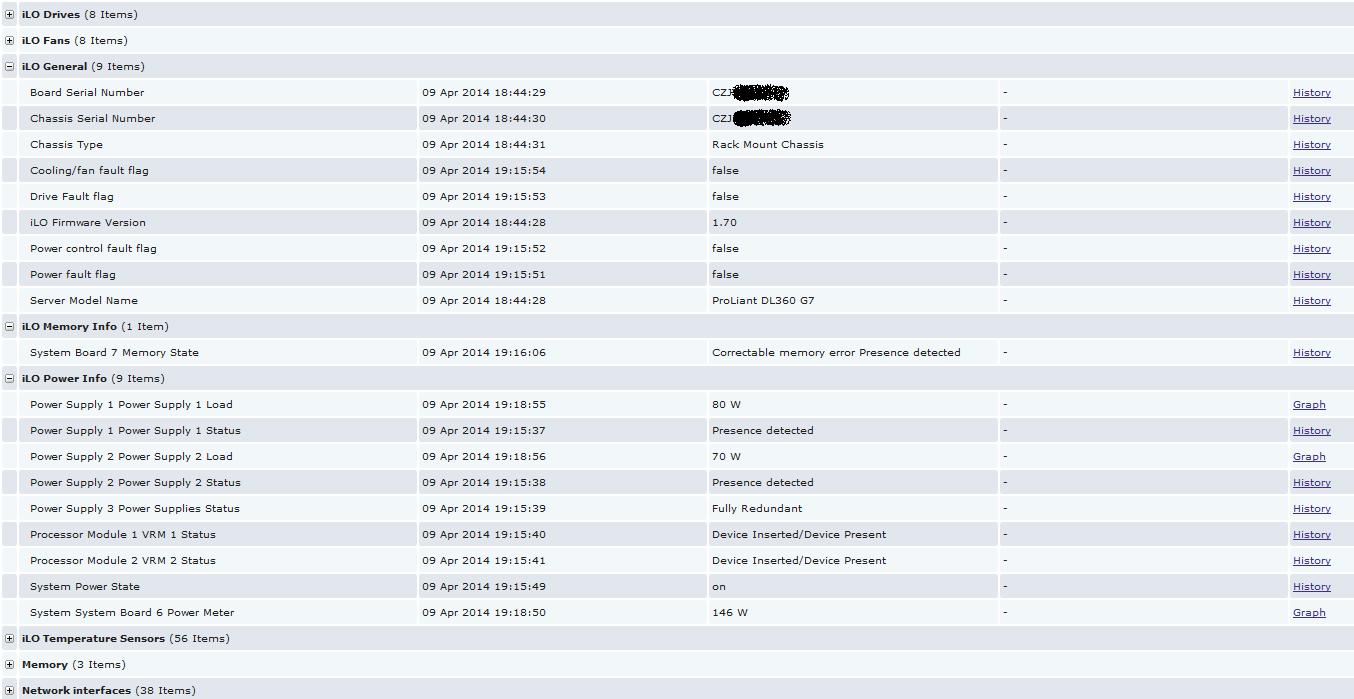 HP servers monitoring via iLO - ZABBIX Forums