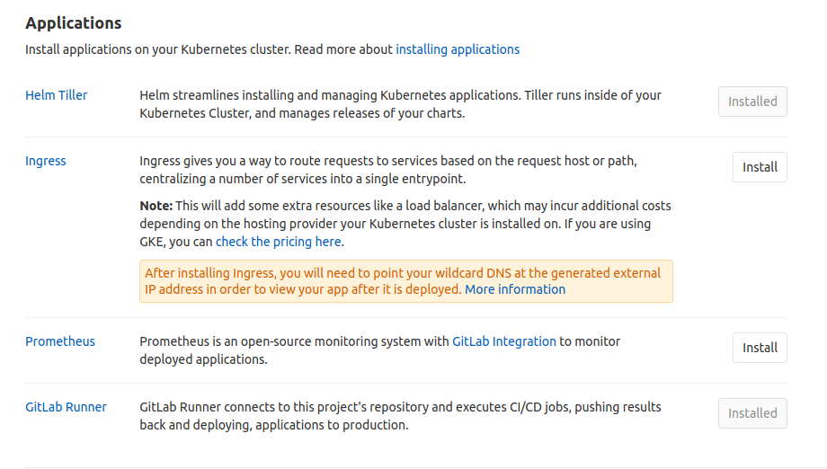 Quick deploy of GitLab Runner to Kubernetes cluster
