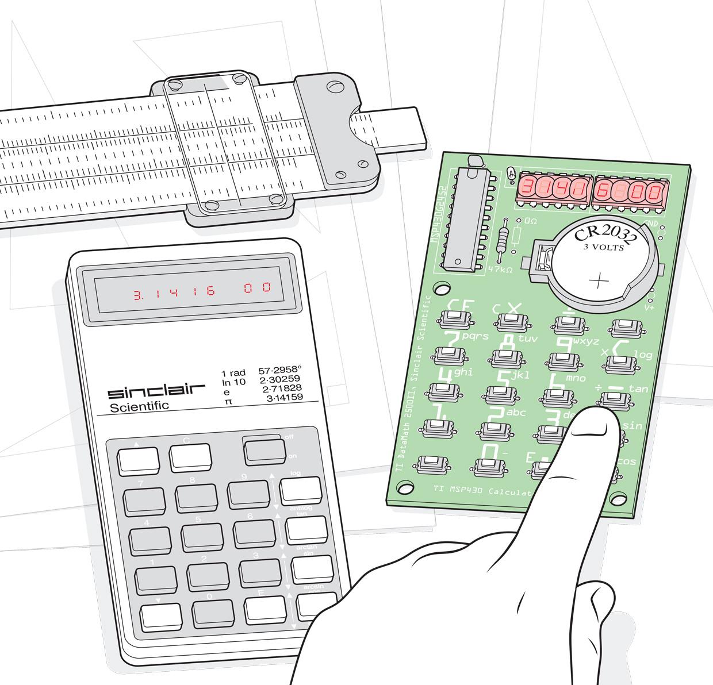 Перевод Как делали набор для сборки классического калькулятора, воссозданного с нуля
