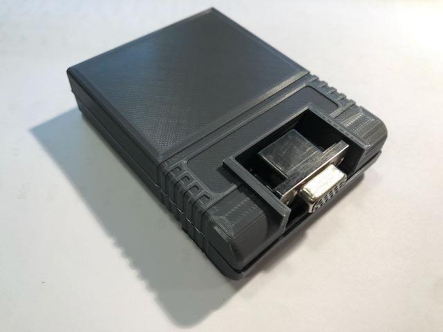Перевод Проект VG64 добавляем второй монитор к Commodore 64