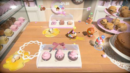 Снимко экрана игры Cake Bash