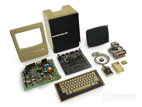 Полный разбор Apple Macintosh 128K
