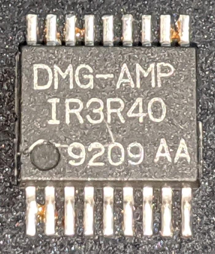 [Перевод] Реверс-инжиниринг и сравнение двух чипов аудио усилителей Game Boy