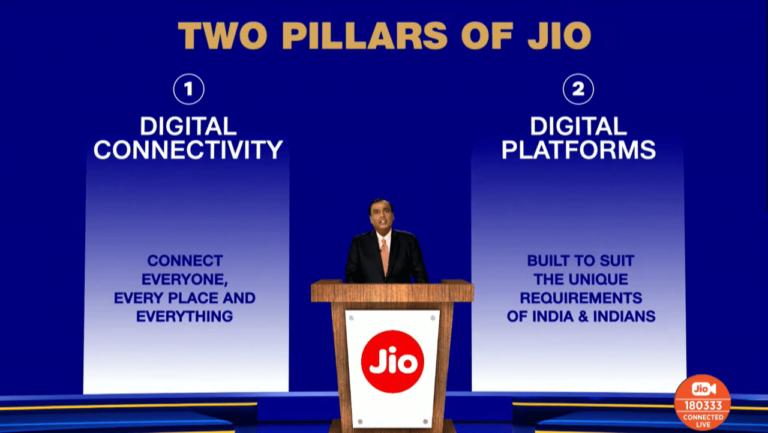 Перевод Индия, Jio и четыре Интернета