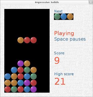 Скриншот оформленной игры