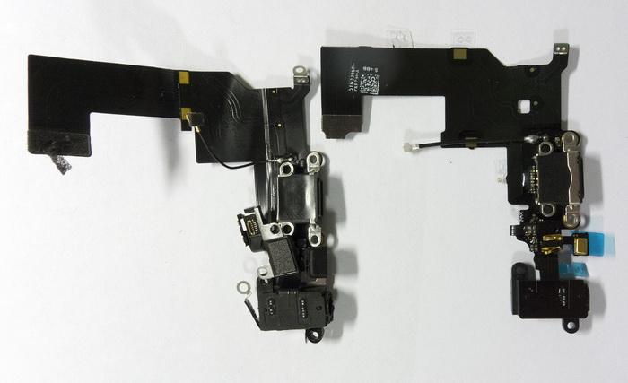 Шлейфы iphone 5s схема