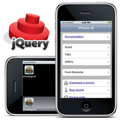 jQuery iPhone UI