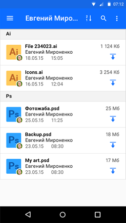Александр Стародубцев: Группировка по типу