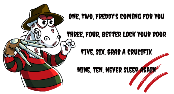 Ноль, один, два, Фредди заберёт тебя