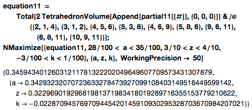 11-BLP equation