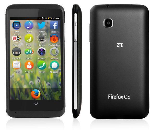 Телефон с новой Firefox OS 1.3 за 100 долларов: ZTE Open C
