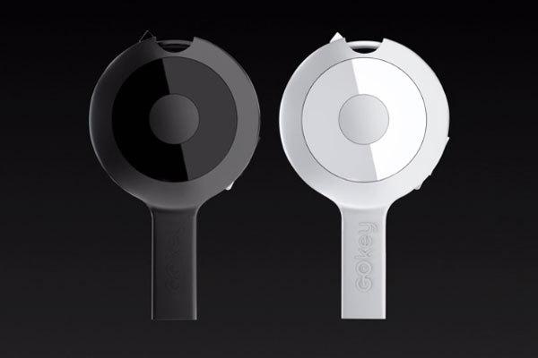 GOkey: дата-кабель, аккумулятор, флешка и обнаружитель ключей в одном флако ...
