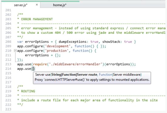 Встречайте WebMatrix 2 RC: поддержка Node js, Jade, EJS