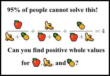 a/(b+c)+b/(a+c)+c/(a+b)=4