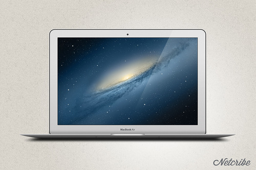 Netcribe: Apple MacBook Air PSD