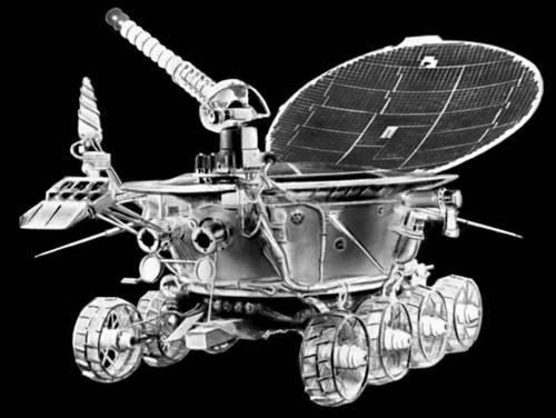Луноход-1. Первая колея на Луне