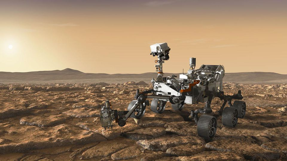 Curiosity discovered the organics on Mars, which billions of years