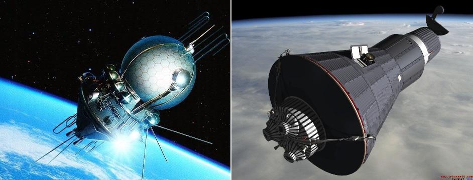 Сравнение пилотируемых космических кораблей первого поколения