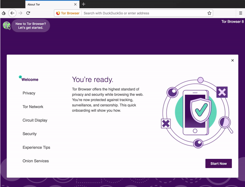 Tor Browser switched to the Firefox Quantum and Photon UI
