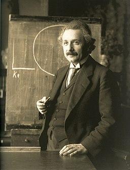 Einstein 1921 by F Schmutzer - restoration