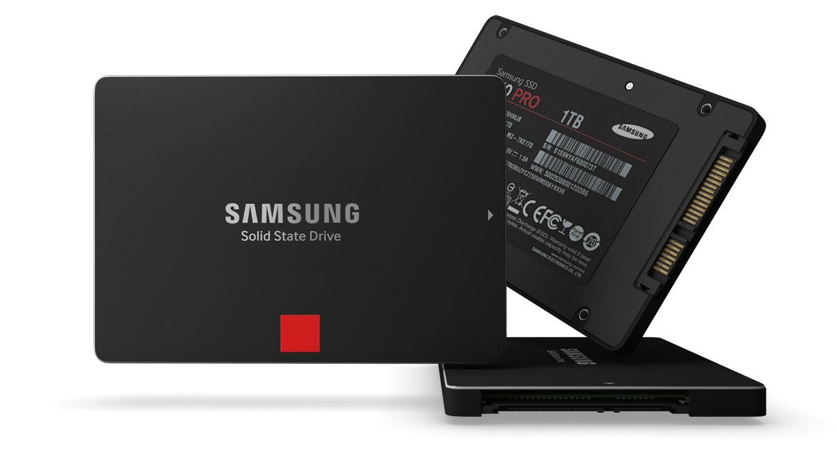 Samsung выпускает новый SSD-накопитель на основе технологии 3D V-NAND
