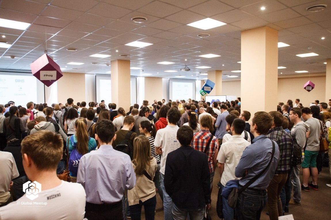 Культурный Embedded на IT Global Meetup В СПБ