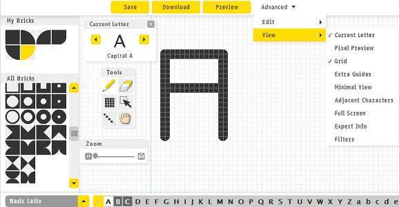 программа для создания шрифтов онлайн - фото 10