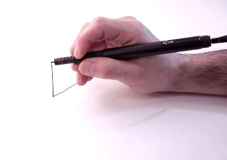 Самая маленькая ручка для 3D-печати