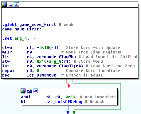 game_move_first function